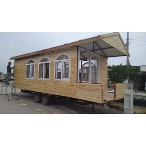 Ahşap karavan